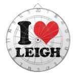 I corazón/amor Leigh Tabla Dardos