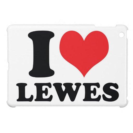 I corazón/amor Lewes iPad Mini Protectores