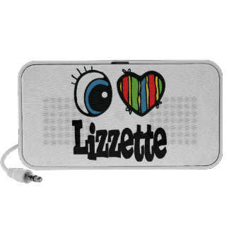 I corazón (amor) Lizzette Mini Altavoz