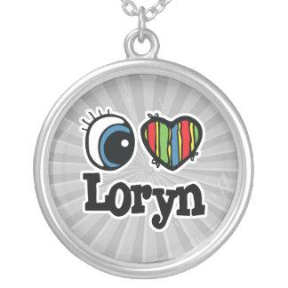 I corazón (amor) Loryn Colgante Redondo