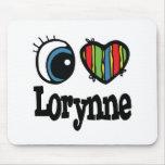 I corazón (amor) Lorynne Alfombrillas De Raton