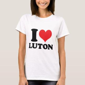 I corazón/amor Luton Playera