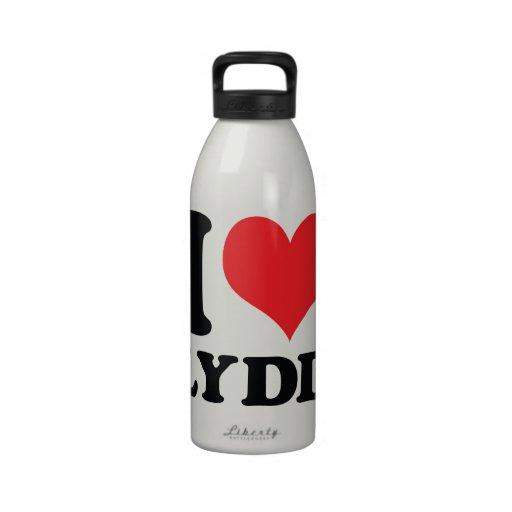 I corazón/amor Lydd Botallas De Agua