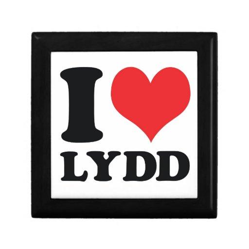 I corazón/amor Lydd Cajas De Joyas