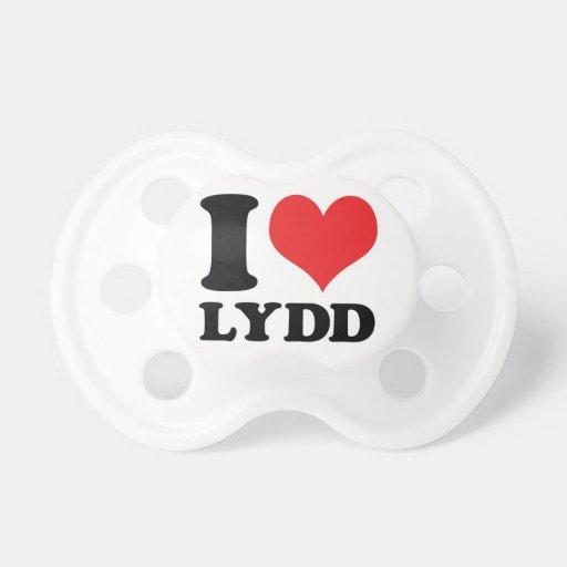I corazón/amor Lydd Chupete De Bebe
