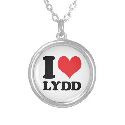 I corazón/amor Lydd Colgante Personalizado