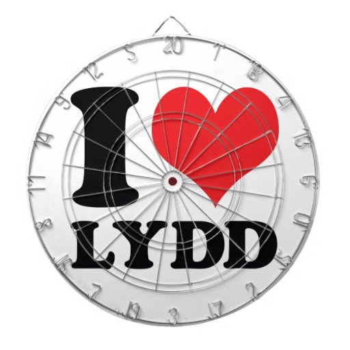 I corazón/amor Lydd Tablero Dardos