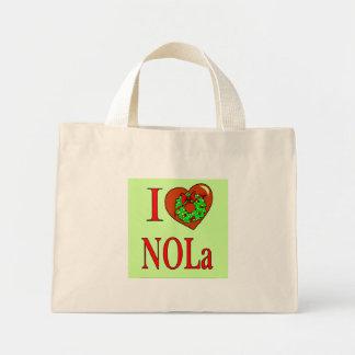 I corazón (amor) NOLA, Bolsa Tela Pequeña