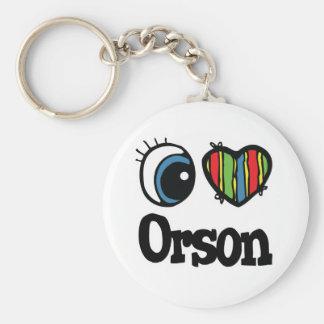 I corazón (amor) Orson Llaveros Personalizados