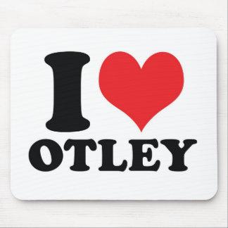 I corazón/amor Otley Alfombrillas De Ratón