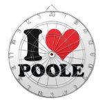 I corazón/amor Poole Tablero De Dardos