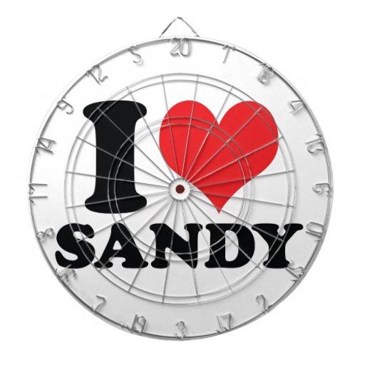 I corazón/amor Sandy