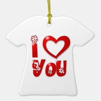 I corazón/amor usted ornamentos de reyes