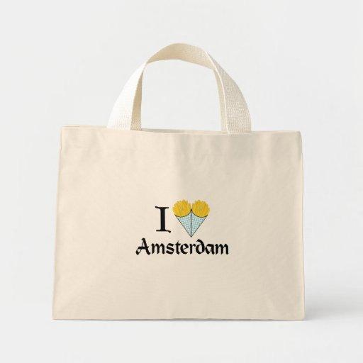 I corazón Amsterdam Bolsa Tela Pequeña