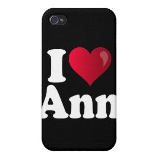 I corazón Ana Romney iPhone 4/4S Carcasa
