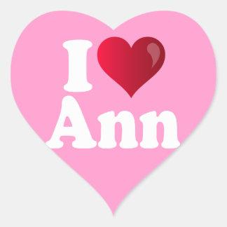 I corazón Ana Romney Colcomanias Corazon Personalizadas