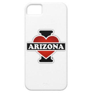 I corazón Arizona Funda Para iPhone 5 Barely There