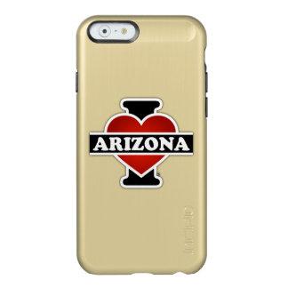 I corazón Arizona Funda Para iPhone 6 Plus Incipio Feather Shine