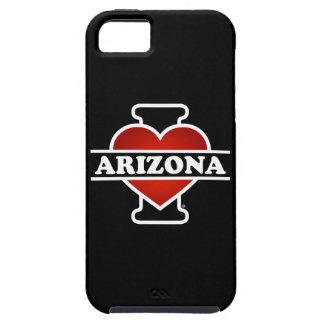 I corazón Arizona iPhone 5 Fundas