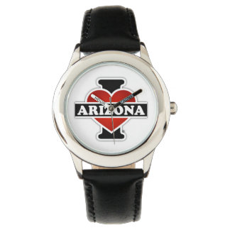 I corazón Arizona Relojes De Pulsera