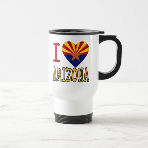 I corazón Arizona Tazas De Café