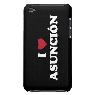 I corazón Asuncion Paraguay iPod Touch Protectores