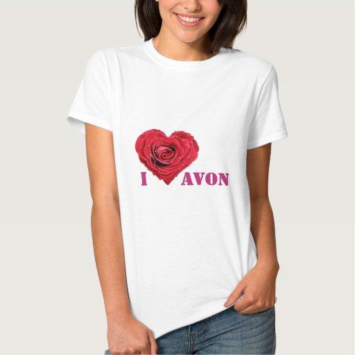 I corazón Avon Remera