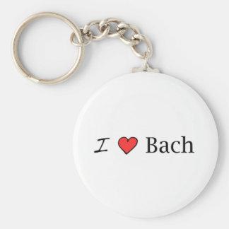 I corazón Bach Llavero