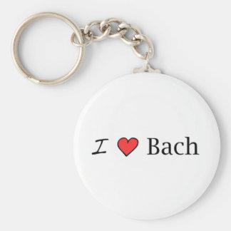 I corazón Bach Llaveros