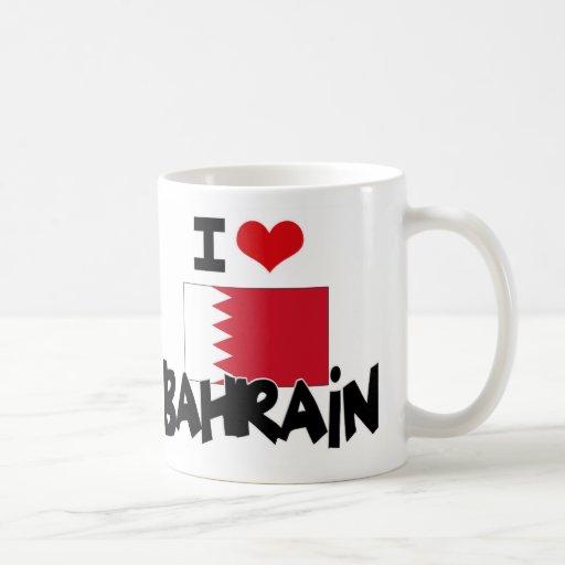 I CORAZÓN BAHREIN TAZA DE CAFÉ