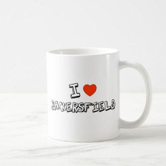 I corazón Bakersfield Tazas De Café