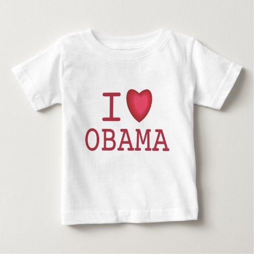 I corazón Barack Obama T-shirts