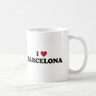 I corazón Barcelona España Taza Clásica