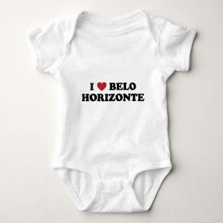 I corazón Belo Horizonte el Brasil Mameluco De Bebé