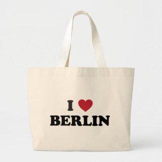 I corazón Berlín Alemania Bolsa Tela Grande
