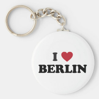 I corazón Berlín Alemania Llavero Redondo Tipo Pin