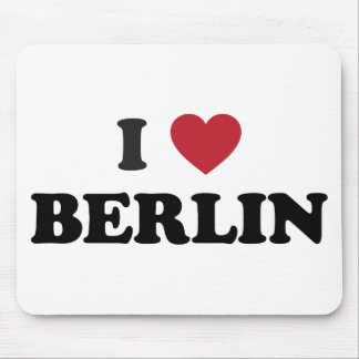 I corazón Berlín Alemania Mouse Pad