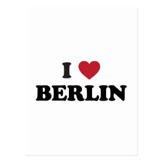 I corazón Berlín Alemania Postales