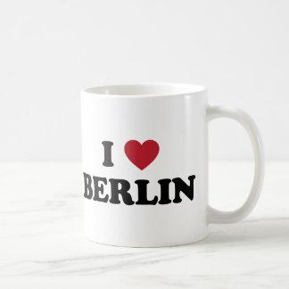 I corazón Berlín Alemania Taza De Café