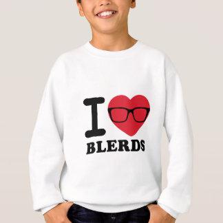 I corazón Blerds básico Sudadera