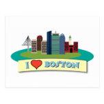 I corazón Boston Postal