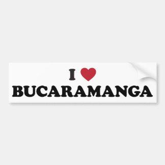 I corazón Bucaramanga Colombia Pegatina Para Auto