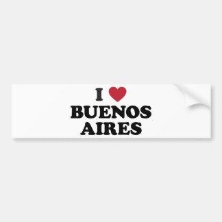 I corazón Buenos Aires la Argentina Pegatina Para Auto
