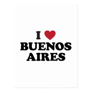 I corazón Buenos Aires la Argentina Postal