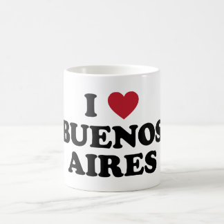I corazón Buenos Aires la Argentina Taza De Café