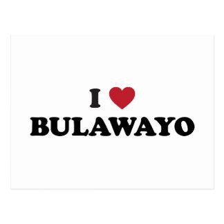 I corazón Bulawayo Zimbabwe Tarjetas Postales
