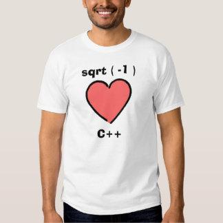 I corazón C++ Poleras