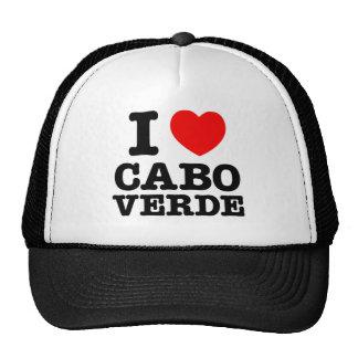 I corazón Cabo Verde Gorras