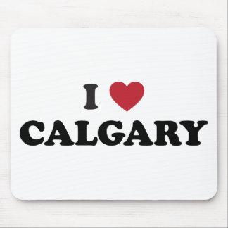I corazón Calgary Canadá Tapete De Raton