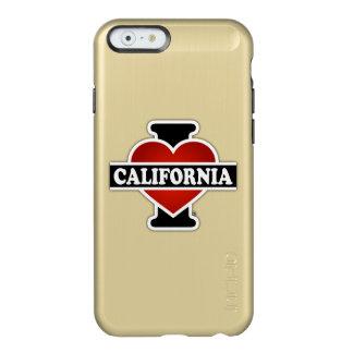 I corazón California Funda Para iPhone 6 Plus Incipio Feather Shine